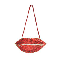 Christmas Sequin Lips Decoration