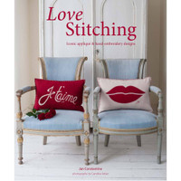Jan Constantine Love Stitching Embroidery book