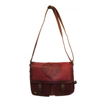 Romany heart designer satchel