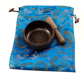 Brown Singing Bowl Gift Set