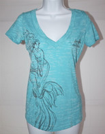 Women's Mermaid Burnout Tee