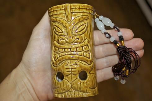 e0303af691f Large Tiki Ocarina (flute) - (808)661-7828 Maui s Beach House