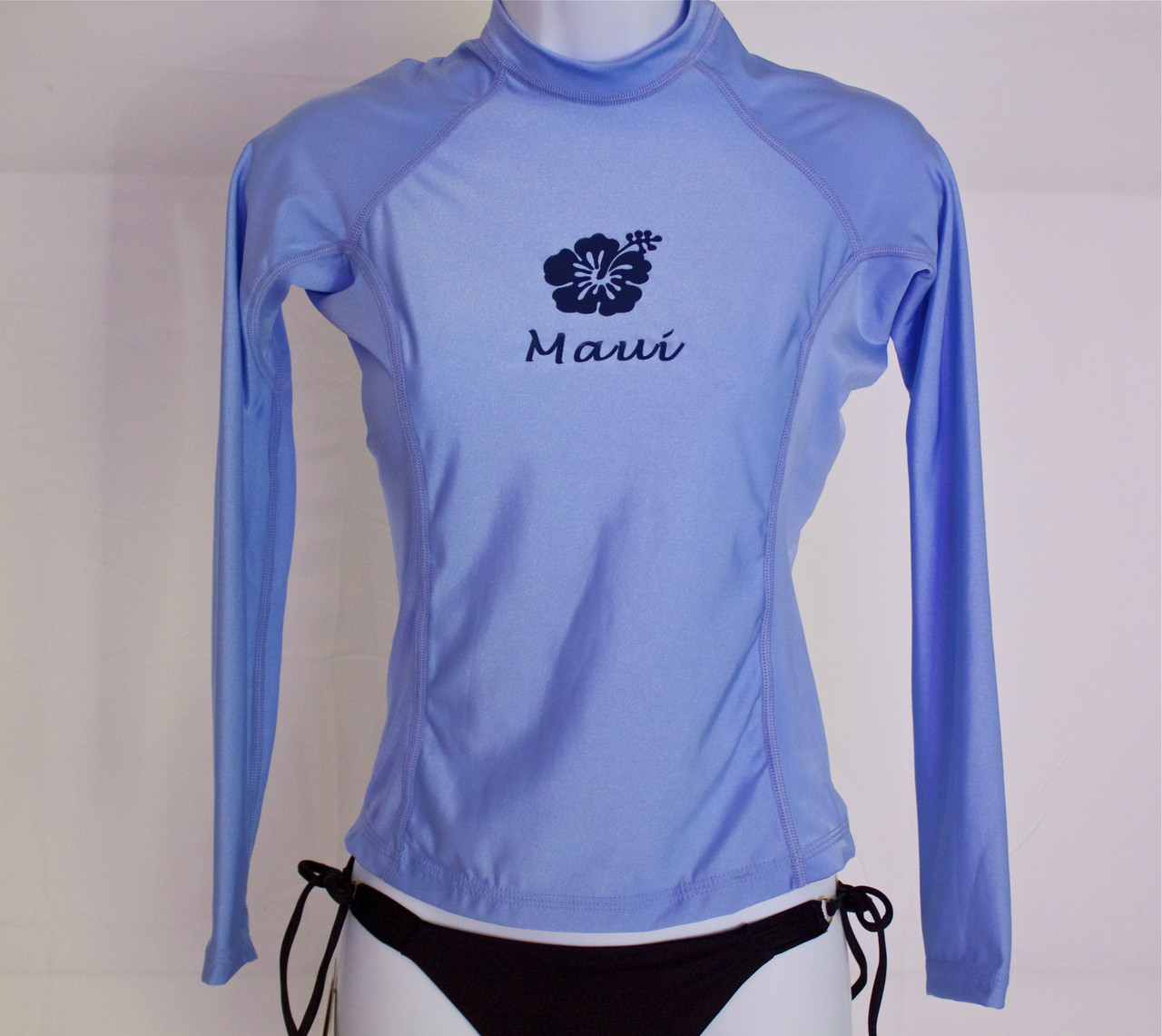 0e3268ab8 Women's Long Sleeve Light Blue Rash Guard - (808)661-7828 Maui's ...