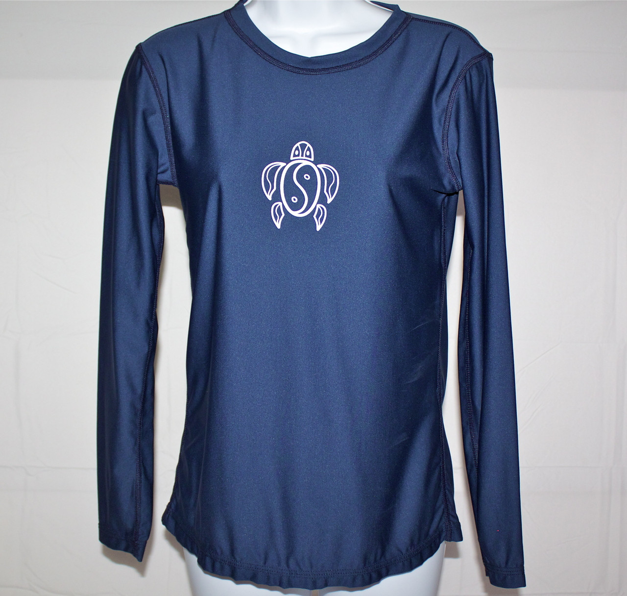 321e86972 ... Women's Long Sleeve Navy Honu UV Shirt. Image 1. Image 1. Image 2.  Image 3. See 2 more pictures