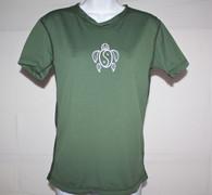 Women's Short Sleeve Olive Honu UV Shirt