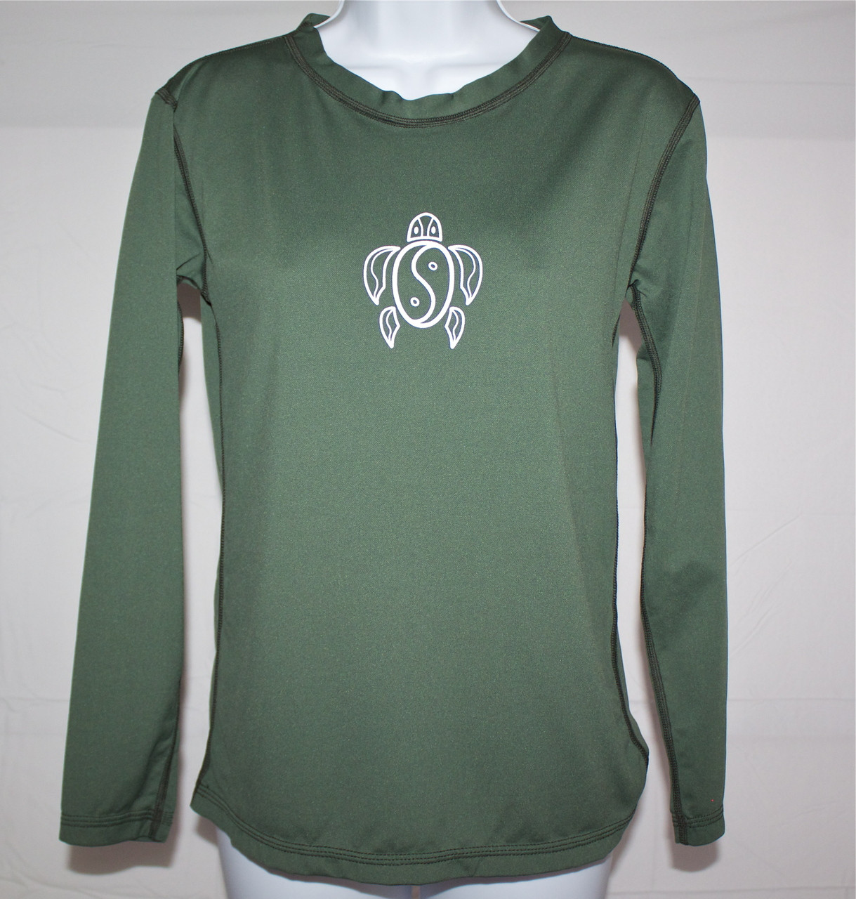 e18b99af9 ... Women's Long Sleeve Olive Honu UV Shirt. Image 1. Image 1. Image 2.  Image 3. See 2 more pictures