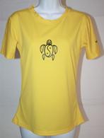 Women's Short Sleeve Yellow Honu UV Shirt