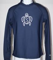 Men's Long Sleeve Navy Honu UV Shirt