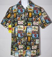 Men's Aloha Shirt In Retro North Shore