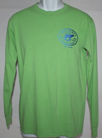 Men's MMBH Green Shark Long Sleeve Shirt