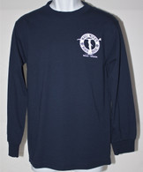 Men's Long Sleeve Navy MMBH Surfer Shirt