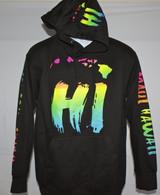 Neon HI Islands Hoodie