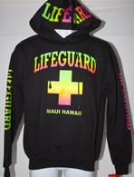 Neon Lifeguard Hoodie