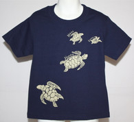Kid's Hawaiian Honu (turtle) T-Shirt