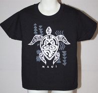 Kid's Tribal Honu (turtle) T-Shirts