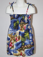 Girl's Aloha Dress in Hawaiian Paradise