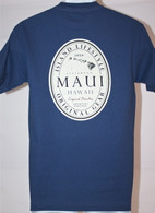 Men's Maui Hawaii Island Lifestyle - Blue & Green T-shirts