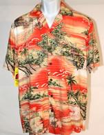 Men's Aloha Shirt In Maui Sunset