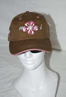 MMBH Hibiscus Maui Hat In Pink/Brown