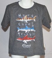 "Little Boys ""Here Comes Trouble"" T-Shirt"