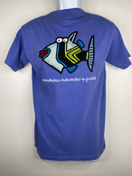 Men's Humuhumu Blue T-Shirt