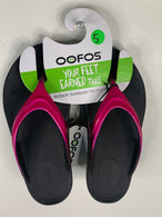 Women's OOfos OOlala in Pink