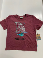 Little Boys Fish'n For Trouble T-Shirt
