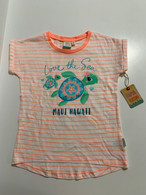 Little Girls Love The Sea Turtle Sleeveless Shirt