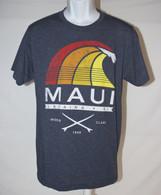 Men's Maui Rainbow Surf - Grey T-Shirt
