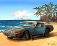 Corvette Stingray Cruiser Art