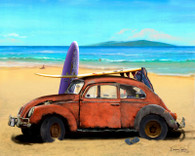 VW Bug Cruiser Art