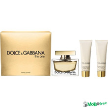 D&G THE ONE 3PC (75ML) EDP