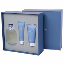LIGHT BLUE MEN 3PC (125ML) EDT - GIFT SET