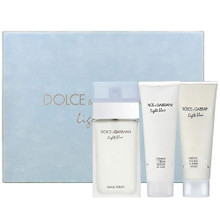 LIGHT BLUE 3PC (100ML) EDT - GIFT SET