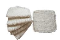 Certified Organic Cotton Original Scrub Cloths (Set of 6)