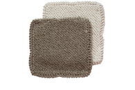 Certified Organic Cotton & Natural Jute  Scrub Cloths (1 of each)