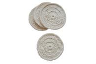 Certified Organic Cotton Awaken Coasters (Set of 4)