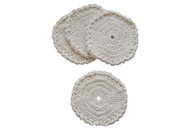 Certified Organic Cotton Spirited Coasters (Set of 4)