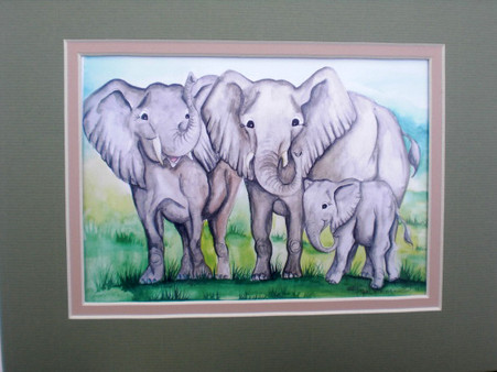 elephant family 3 matted