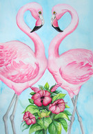 flamingo designs and prints