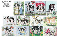 Cow cards assortment