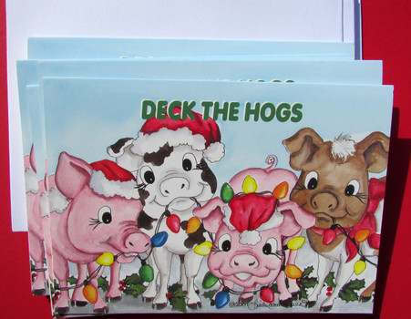 Deck the hogs
