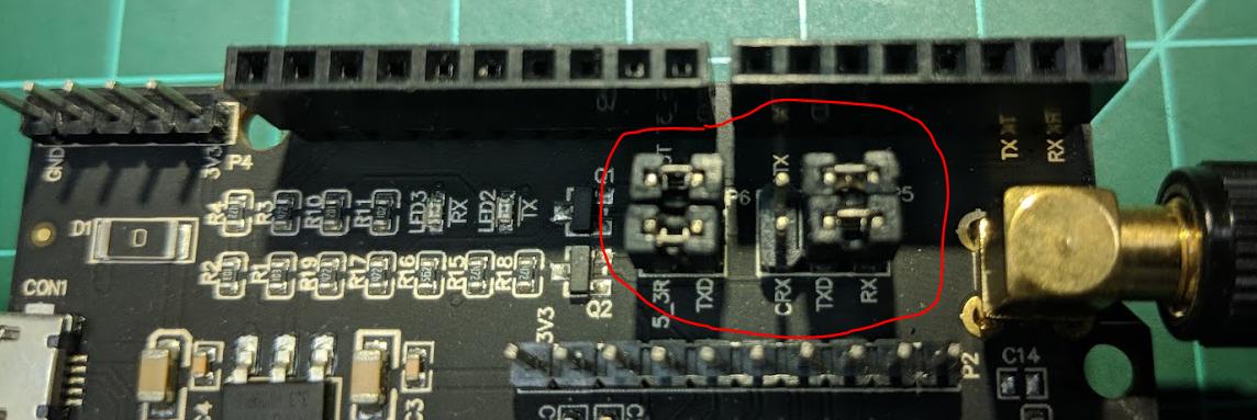RAK811 WisNode Lora (Arduino form factor)