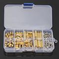 120Pcs M3 Male Female Brass Standoff Kit