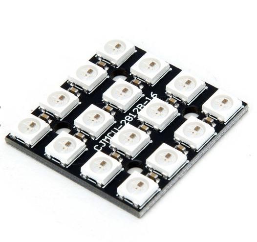 4 x 4 Neopixel RGB LED Matrix Board