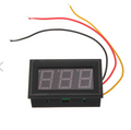 Mini Panel Mount Digital Voltmeter 0-99.9VDC