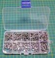 M3 Stainless Phillips Steel Screw and Nut Assorted Kit (240pcs)