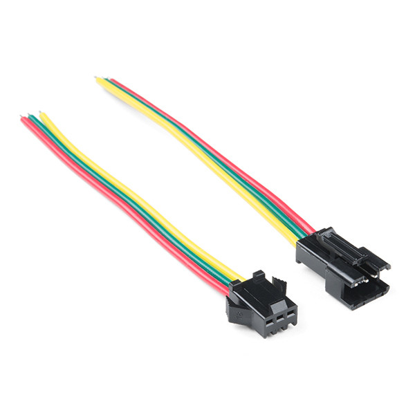 Stupendous Led Strip Pigtail Connector 3 Pin Crcibernetica Wiring Cloud Brecesaoduqqnet