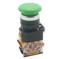 LA38-11M Push Button Switch (Green)