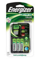 Energizer Charger with 4 x AA NiMh Batteries